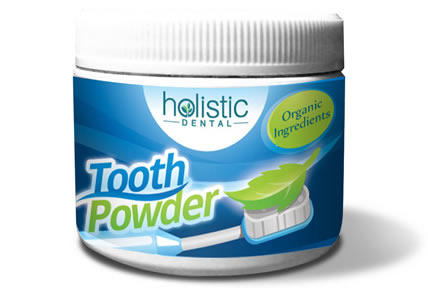 Herbal tooth and gum powder is a better alternative to commercial toothpaste.